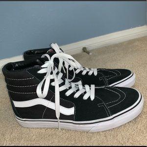 Vans Sk8-Hi Black & White Shoes